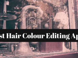 hair colour editing apps