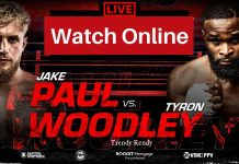Jake Paul vs Tyron Woodley boxing match is going to happen on August 29